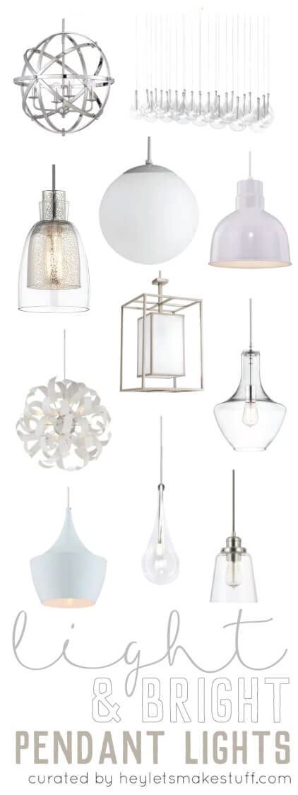 Choosing light and bright pendant lighting for your kitchen can be a daunting tasks. With so many styles, finishes, and uses, how do you know which one will work best for you? Here are my top ways to choose the perfect pendant.