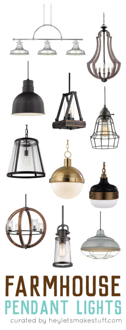 Choosing Farmhouse Pendant Lighting For Your Kitchen Can Be A Daunting  Tasks. With So Many