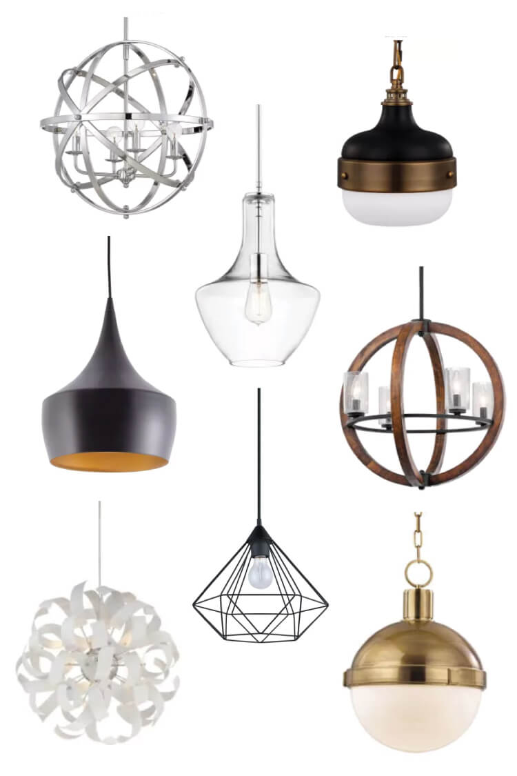 Choosing pendant lighting for your kitchen can be a daunting task. With so many styles, finishes, and uses, how do you know which one will work best for you? Here are my top ways to choose the perfect pendant.