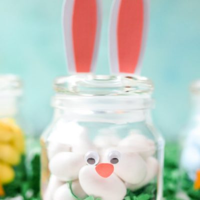 DIY Easter Jars: Bunny and Chick