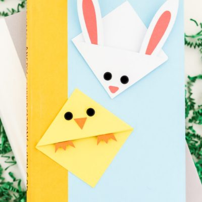 Easter Bookmarks: Bunny and Chick