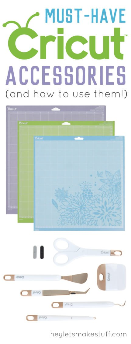 must-have Cricut accessories pin image