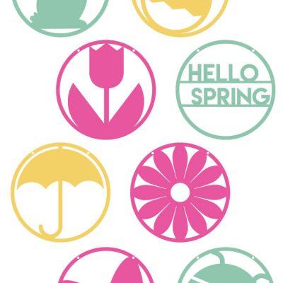 Hello Spring Pennants