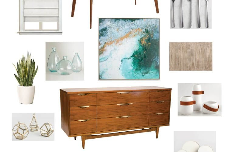 Midcentury Modern Dining Room – Still Going! (ORC Week #3)