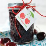 This cherry bourbon compote is a sweet summer treat, perfect for topping ice cream and breakfast foods, like pancakes and waffles.