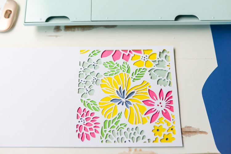 how to make cricut layers for each letter