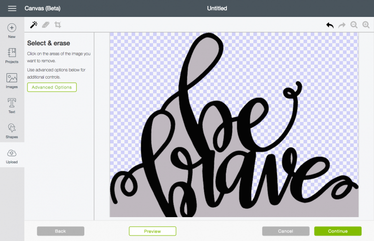 Remove anything that's not a part of your image - These are great tips and tricks for using the Cricut Design Space or Illustrator to convert your doodles, writing, and other hand-drawn images into an SVG that you can cut on the Cricut Explore!