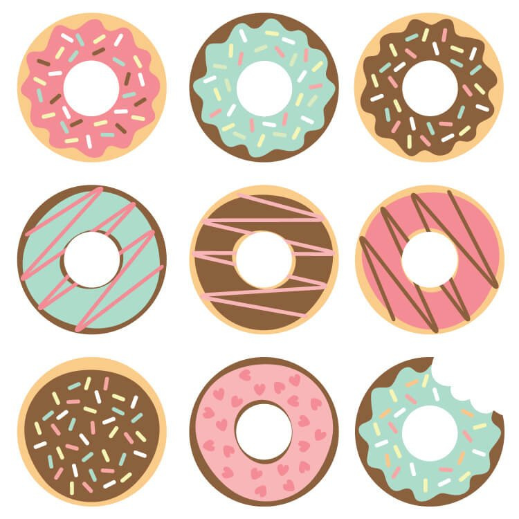 Celebrate National Donut Day (or any day!) with these free donut SVG ...