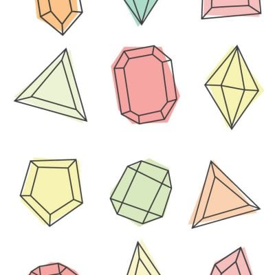 Gem Clip Art – Freebie Friday