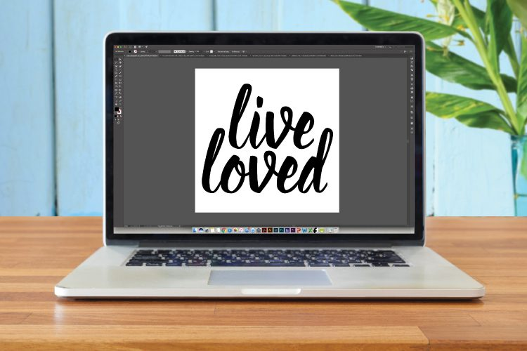 Learn the basics for creating a simple SVG cut file in Illustrator that can then be cut using a Cricut Explore or Silhouette Cameo.