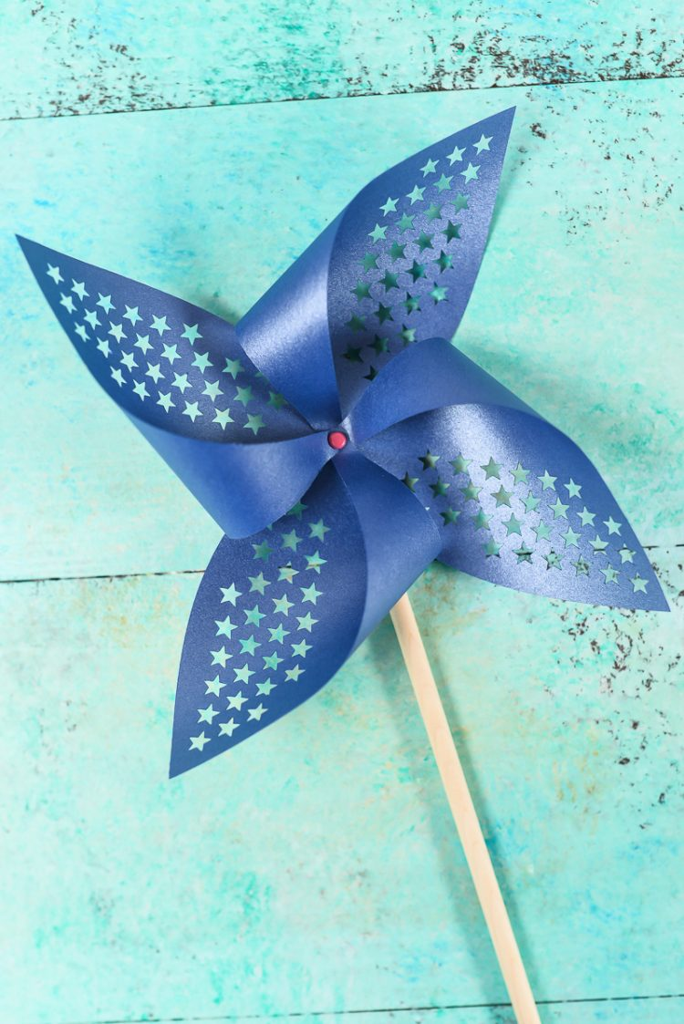 Patriotic Pinwheels - Free Cut Files - Hey, Let's Make Stuff