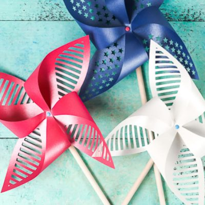 Patriotic Pinwheels – Free Cut Files