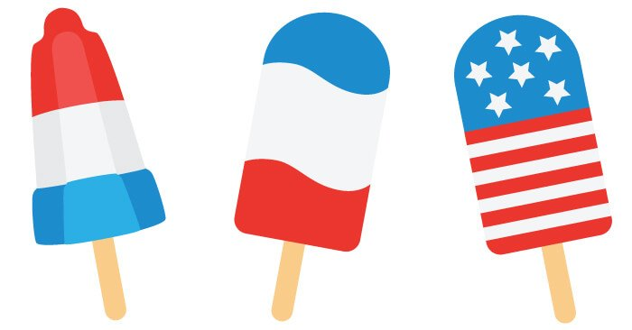 4th of july popsicle cut files clip art freebie friday rh heyletsmakestuff com popsicle clipart free popsicle clip art black and white