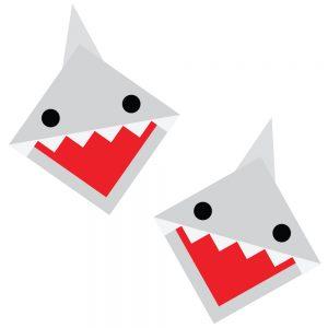 Shark-Corner-Bookmarks