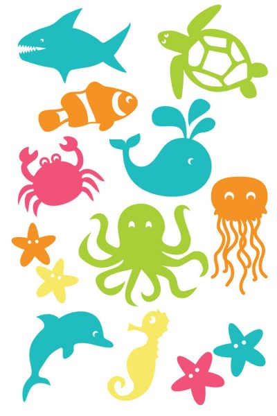 Under the Sea Cut Files and Clip Art
