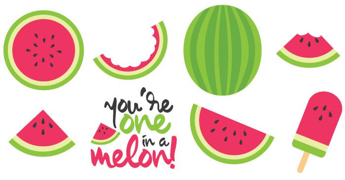 Watermelon Cut Files + Clip Art - Freebie Friday - Hey ... (700 x 366 Pixel)