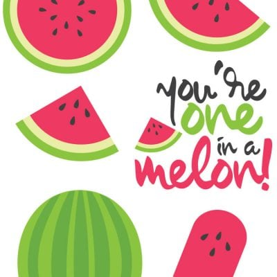 Watermelon Cut Files + Clip Art – Freebie Friday