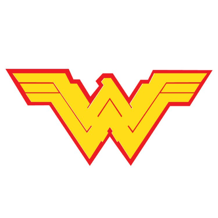 Wonder woman logo pronofoot35fo Image collections