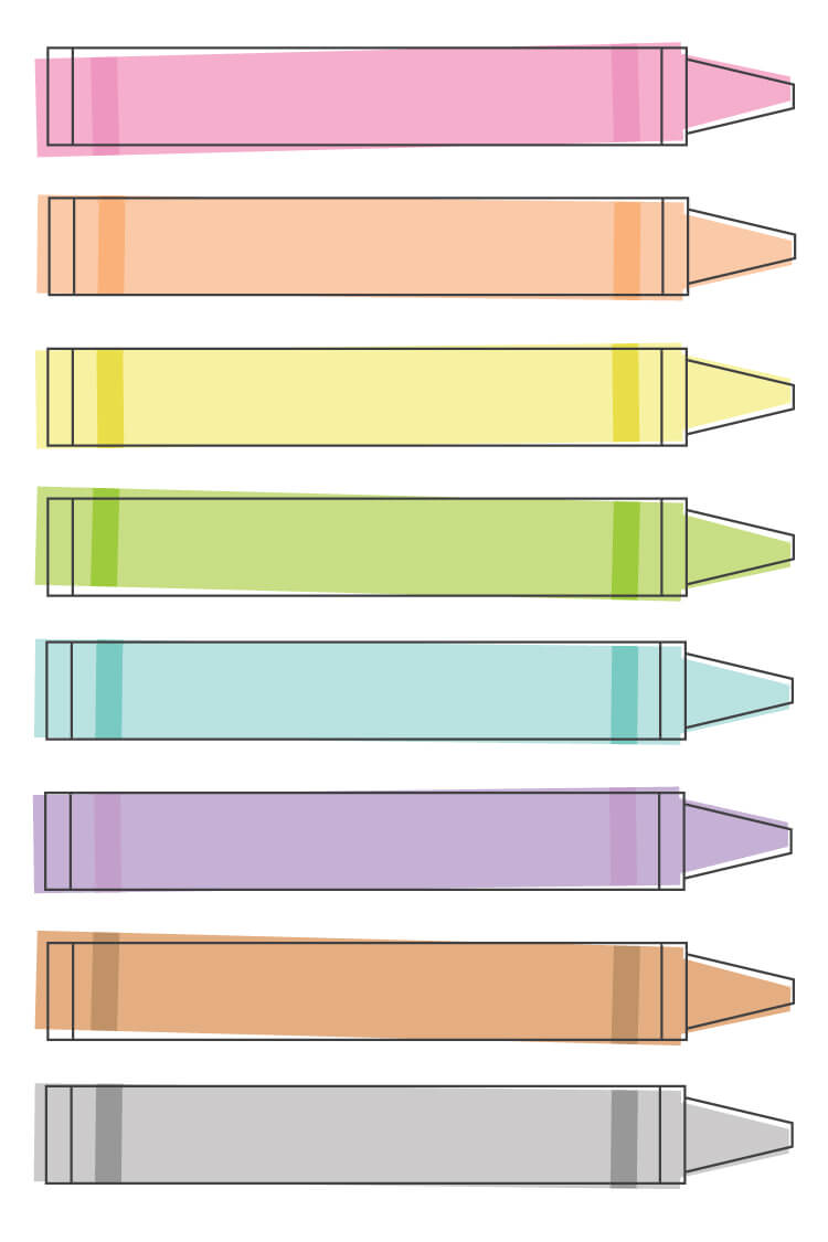 This modern and fun crayon clip art set is perfect for all of your back to school projects! Use them to create back to school fliers, banners, or to decorate your classroom!