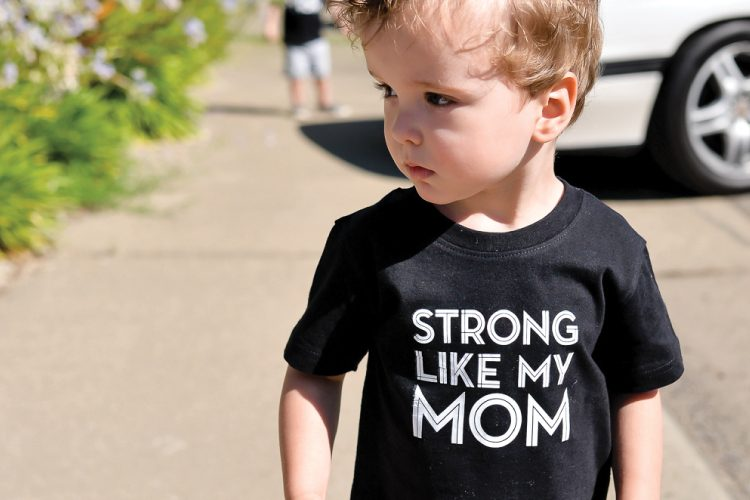 strong like mom SVG
