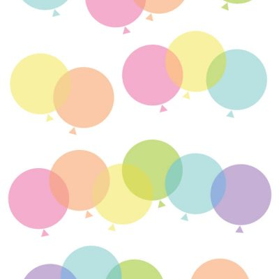 Rainbow Balloon Clip Art