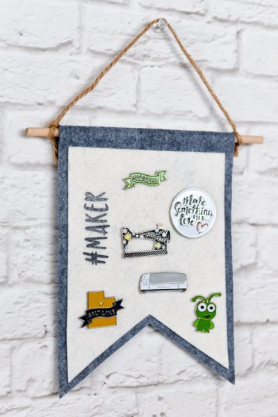 Felt Pin Display Banner