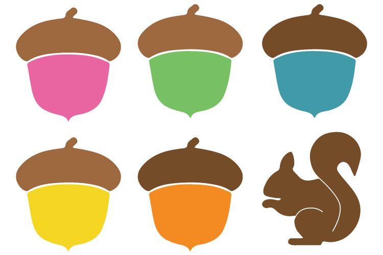 acorn clip art cut files hey let s make stuff rh heyletsmakestuff com acorn clipart acorn clip art templates printable
