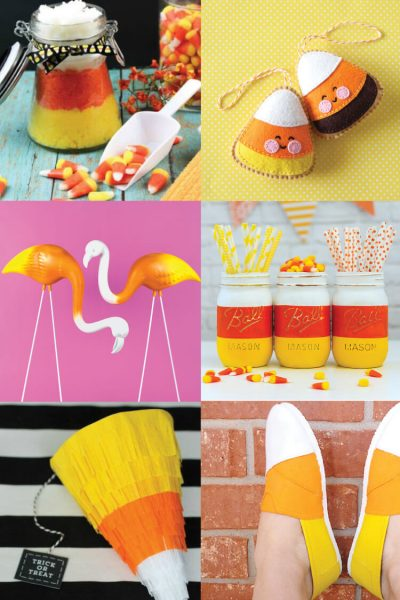 15+ Creative Candy Corn Crafts