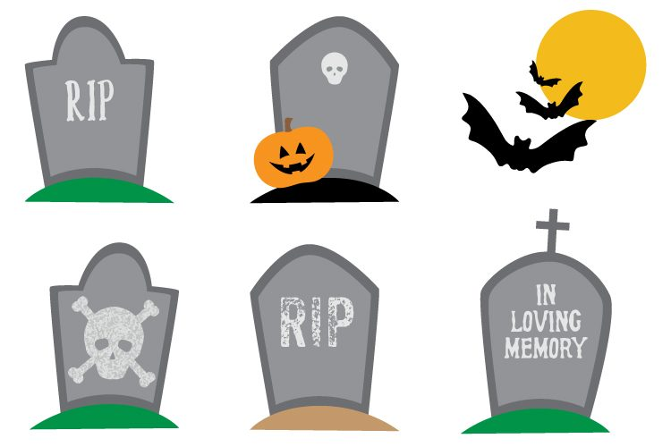 haunted graveyard clip art freebie friday hey let s make stuff rh heyletsmakestuff com graveyard scene clipart spooky graveyard clipart