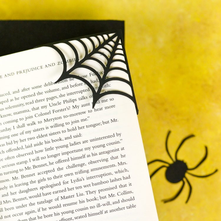 Halloween Spider bookmarks