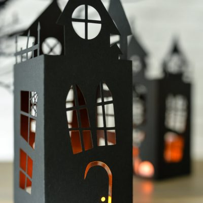 Halloween Haunted House Lantern