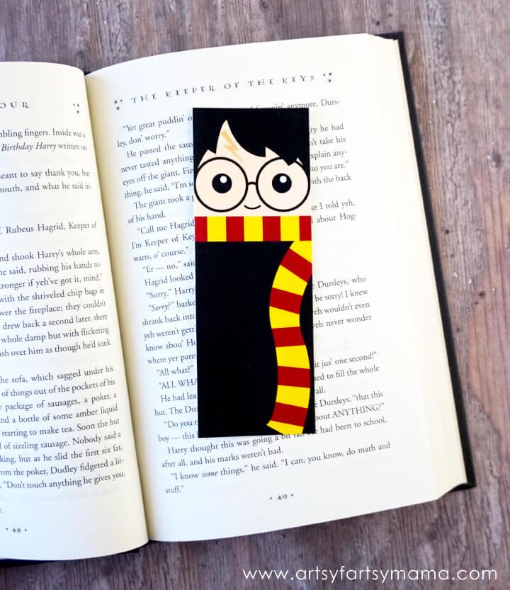 Harry Potter Bookmarks - Artsy Fartsy Mama