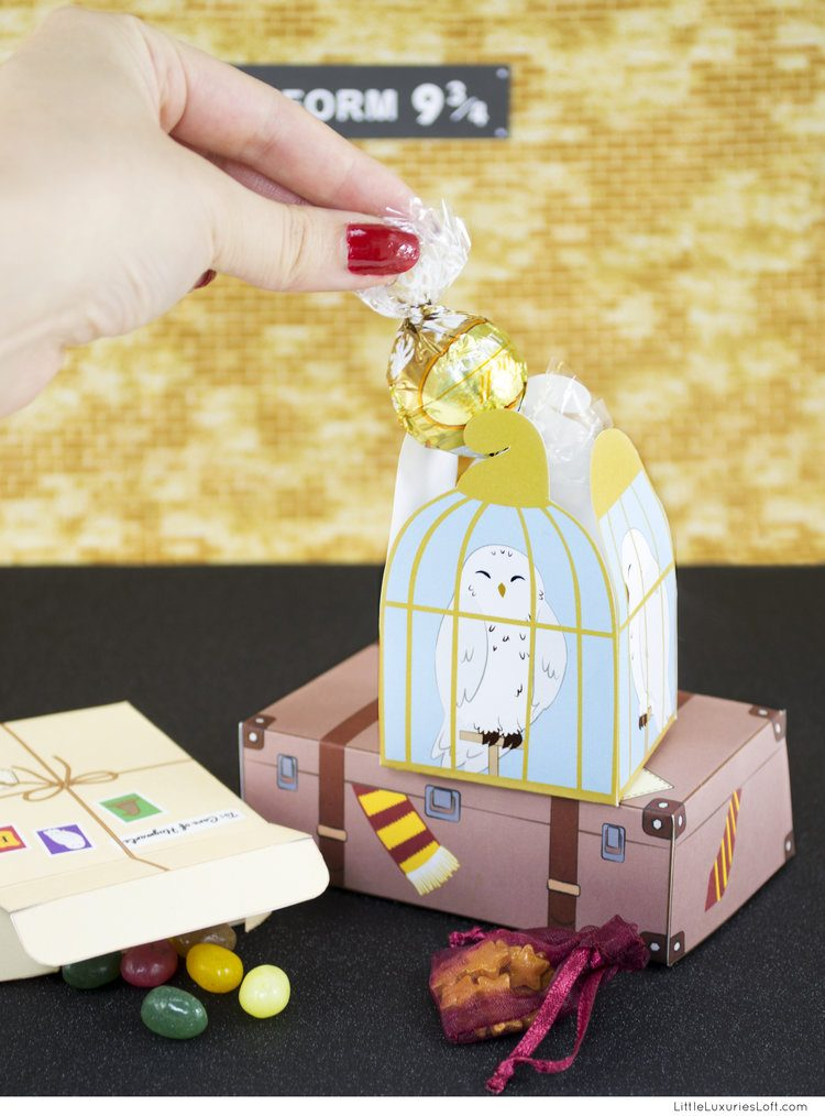 Harry Potter Gift Bo Little Luxuries Loft