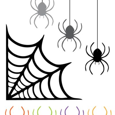 Spider Web Clip Art – Freebie Friday