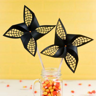 Spider Web Pinwheels
