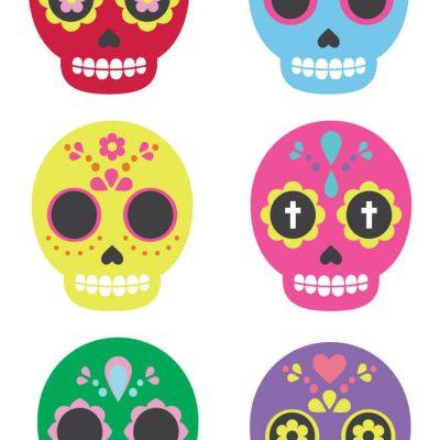 Sugar Skull Clip Art – Freebie Friday