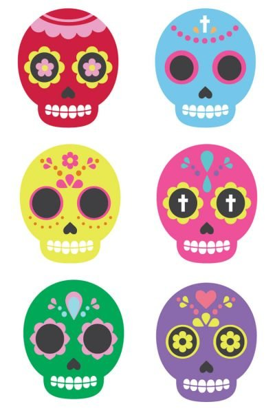 Sugar Skull Clip Art – Freebie Friday