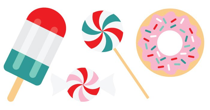 festive sweets christmas clip art and cut files hey let s make stuff rh heyletsmakestuff com sweet clip art images sweet clip art images