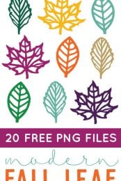 Fall Leaf Clip Art 20 Png Files To Download For Free