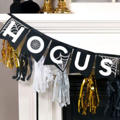 Halloween Hocus Pocus Banner