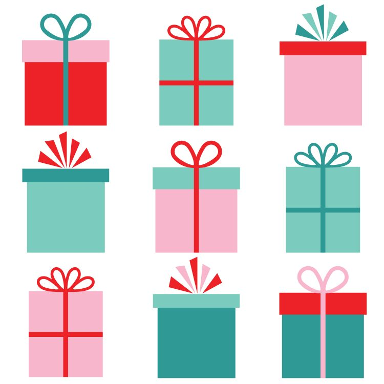 christmas gifts clip art freebie friday hey let s make stuff rh heyletsmakestuff com christmas gifts border clipart christmas gifts clipart free