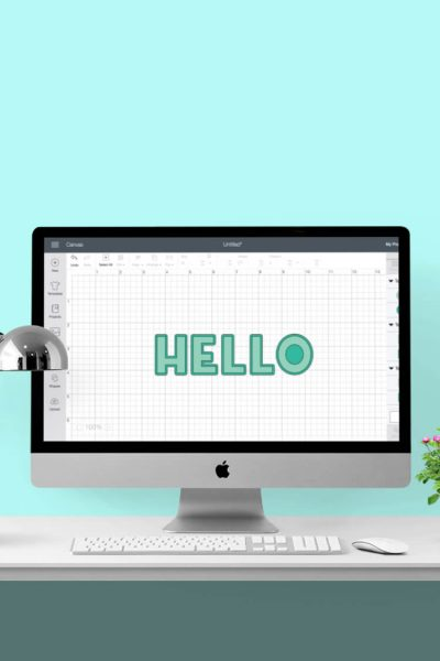 Create a Shadow in Cricut Design Space v3
