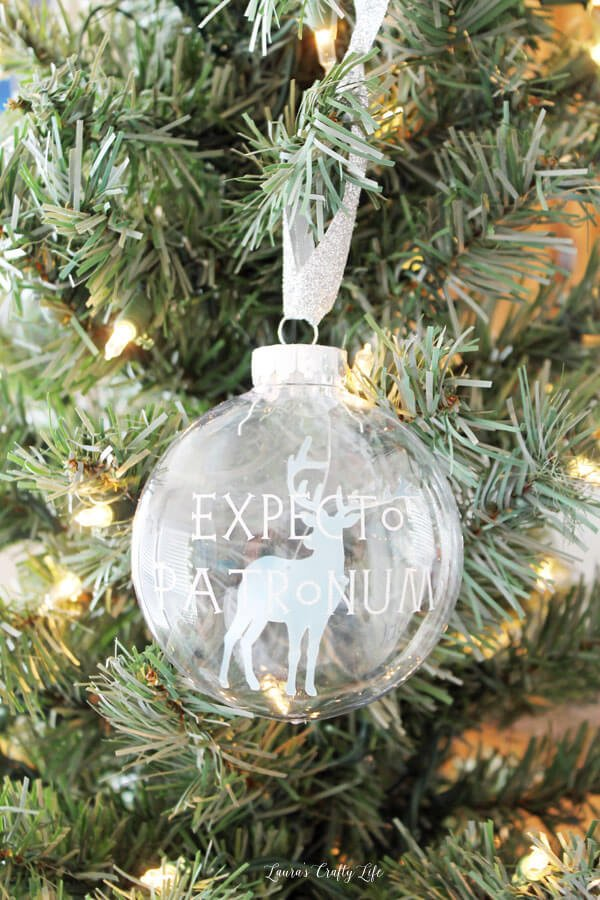Make your tree shine with these DIY Christmas Ornaments made using the  Cricut! So many - DIY Christmas Ornaments With The Cricut - Hey, Let's Make Stuff