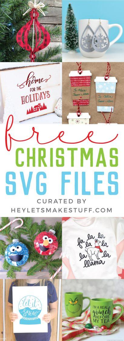 Free SVG Files for Christmas