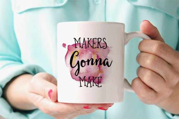 Makers Mug: If you're looking for the gift ideas for the Cricut fan in your life, you've come to the right place! This list has all sorts of Cricut accessories, tools, and other fun ideas for any Cricut lover.