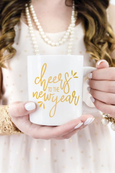 Cheers to the New Year SVG – Freebie Friday