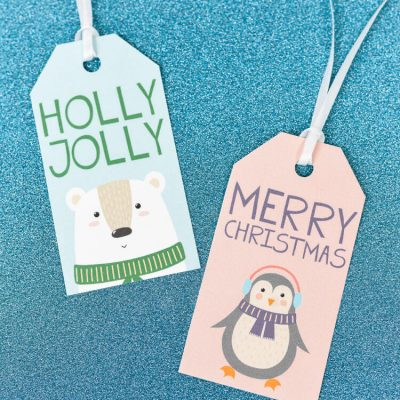 Free Printable Cute Christmas Gift Tags