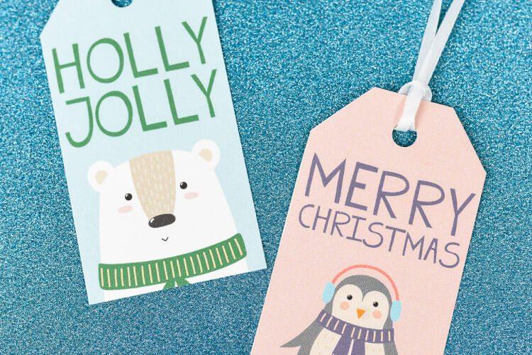 Free Printable Cute Christmas Gift Tags