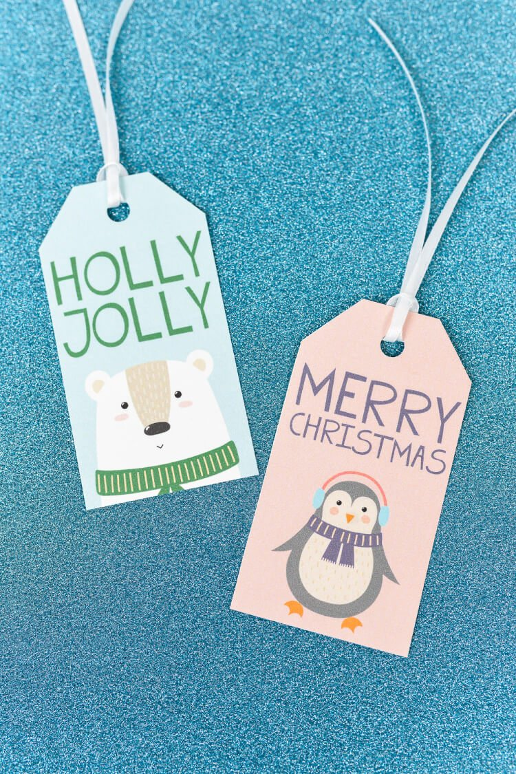 It is a picture of Crafty Cute Gift Tags Printable