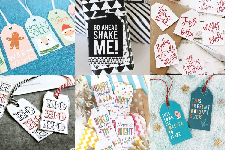 30 free printable gift tags for christmas hey lets make stuff add some personality to your christmas gift wrap this year with these amazing free printable gift negle Gallery
